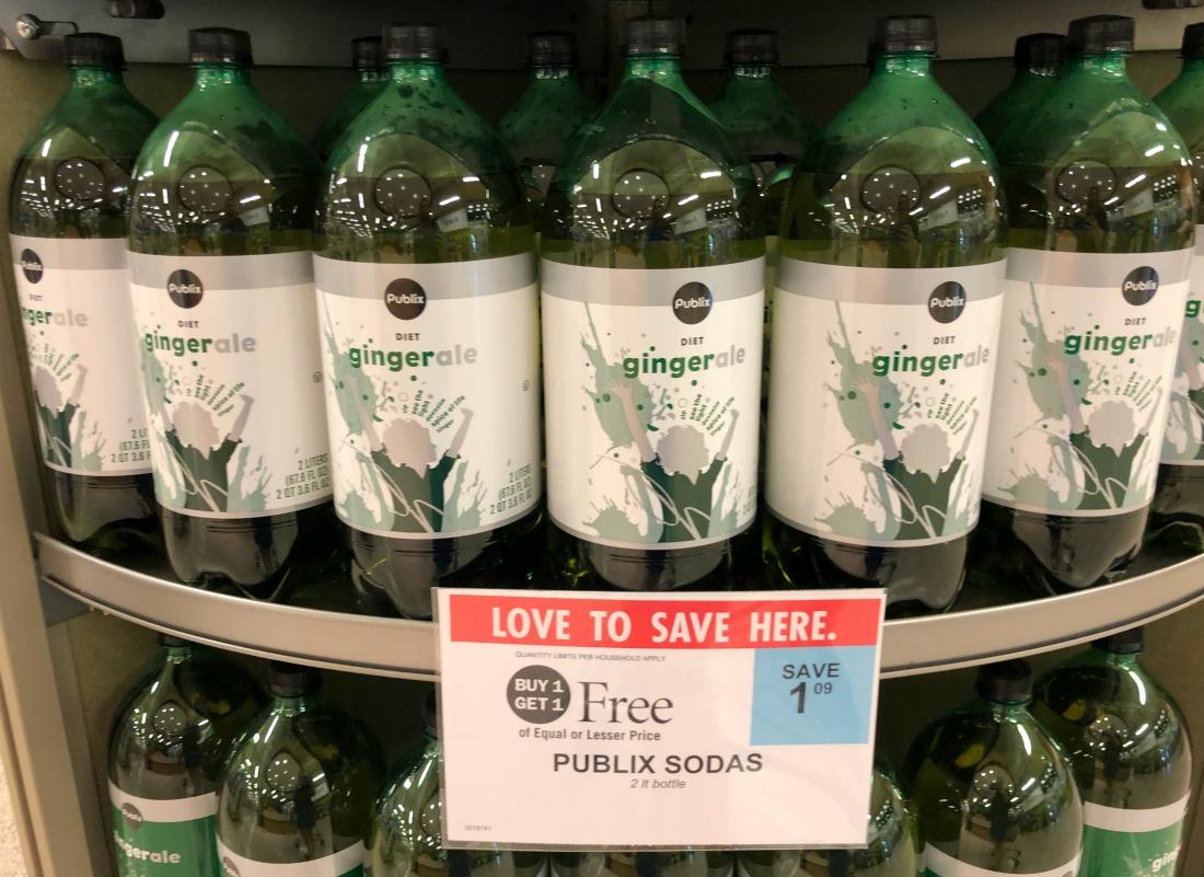 Publix 2-Liter Sodas As Low As 21¢ At Publix on I Heart Publix