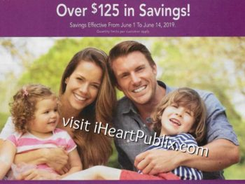 Publix H&B Flyer, 6/1 to 6/14 on I Heart Publix