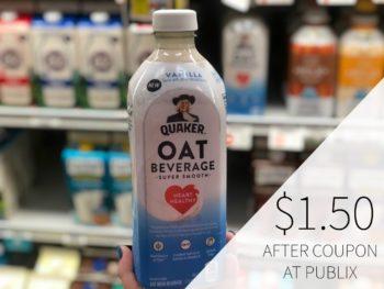 Quaker Oat Beverage Just $1.50 At Publix on I Heart Publix 1