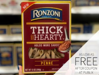 Ronzoni Thick & Hearty Pasta Only 35¢ At Publix on I Heart Publix 1