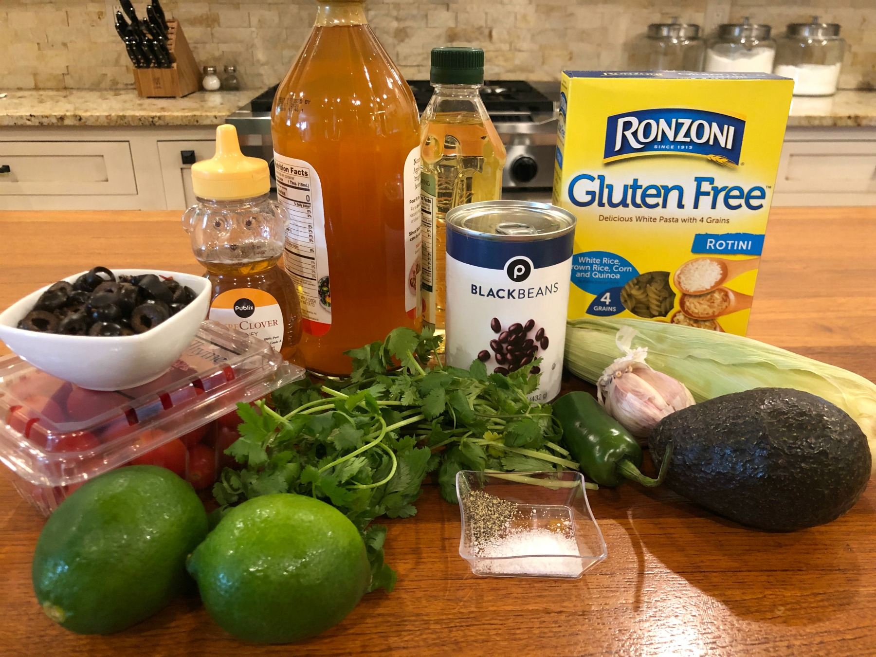 Gluten Free Lime Cilantro Southwestern Pasta Salad on I Heart Publix 4