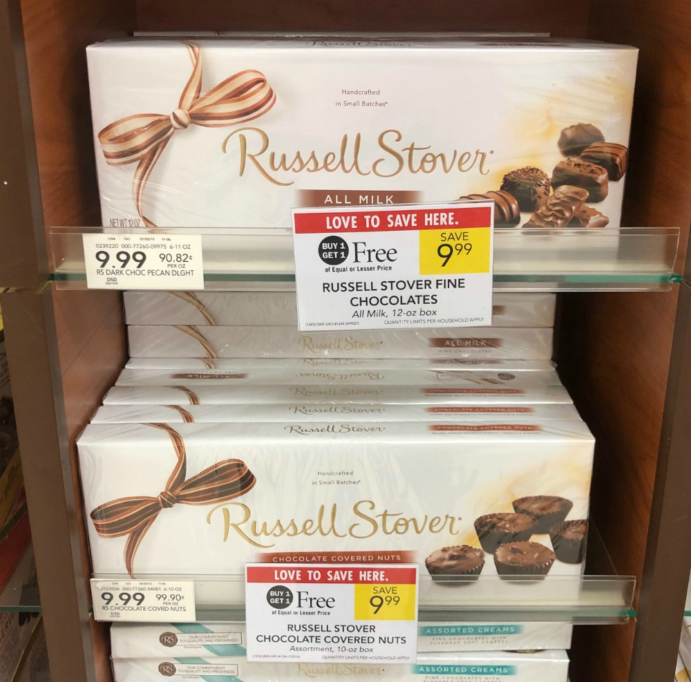Russell Stover Boxed Chocolates Only $4 At Publix on I Heart Publix