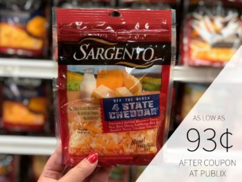 Sargento Shredded Cheese As Low As 93¢ At Publix on I Heart Publix 1