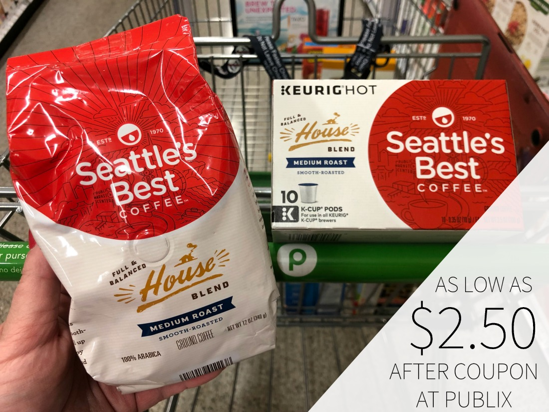 New Seattle's Best Coffee Coupons For The Upcoming Publix BOGO Sale on I Heart Publix