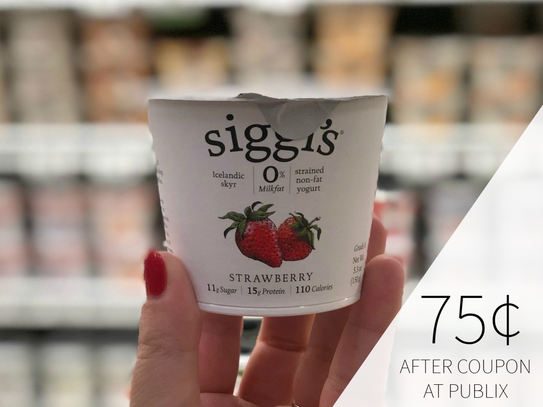 Siggi's Icelandic Style Skyr Just 75¢ At Publix on I Heart Publix