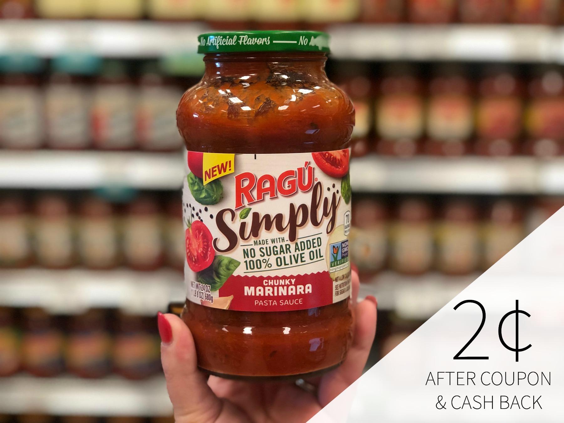 Ragu Sauce Only 52¢ At Publix on I Heart Publix