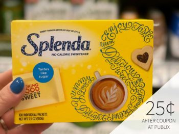 Get Splenda For Just 25¢ At Publix on I Heart Publix