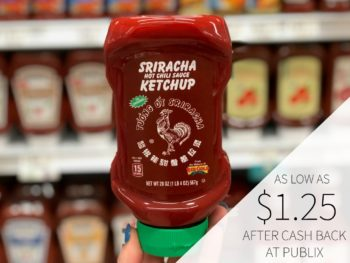 Sriracha Ketchup As Low As $1.25 At Publix on I Heart Publix 1