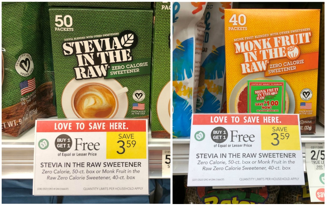 Stevia In The Raw Or Monk In The Raw Sweetener Only $1.25 At Publix on I Heart Publix 1