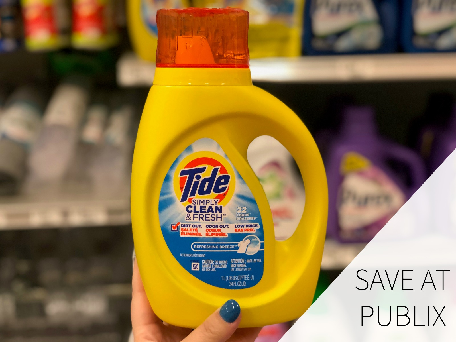 Tide Simply Detergent Only $2.33 At Publix on I Heart Publix 1