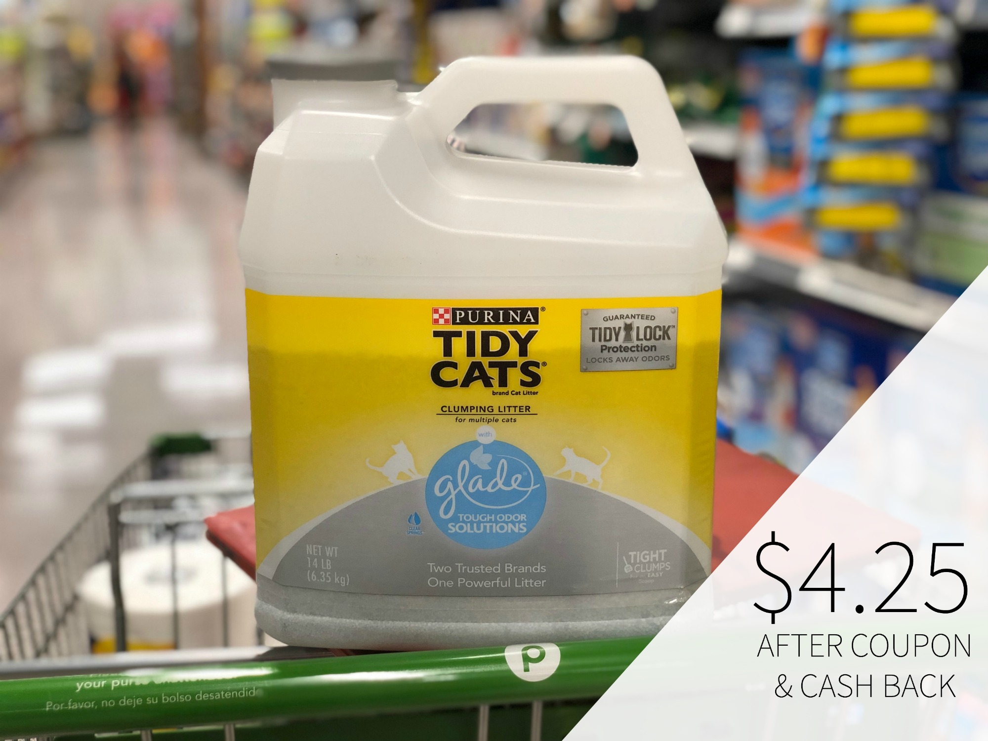 Purina Tidy Cats Litter As Low As $3.70 At Publix on I Heart Publix 1