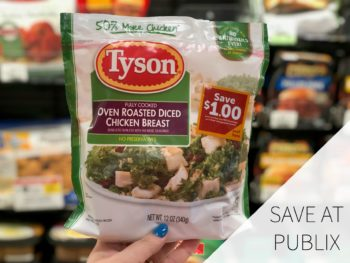 Create Simply Delicious Meals With Tyson® Refrigerated Fully Cooked Chicken + Save Now At Publix on I Heart Publix 2