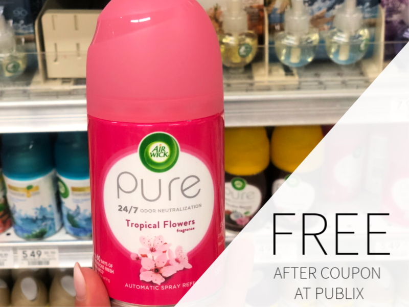 FREE Air Wick Freshmatic Ultra Automatic Spray Refill At Publix on I Heart Publix