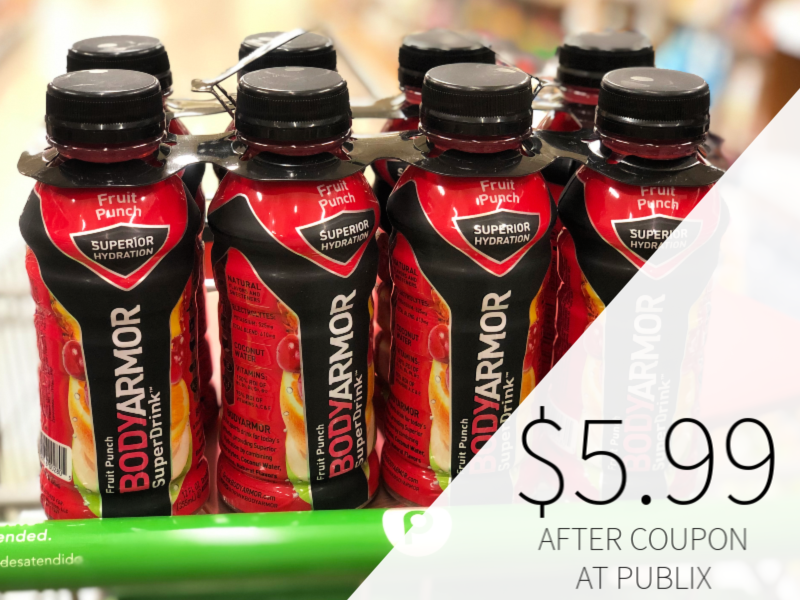 New BODYARMOR Sports Drink Coupon - on I Heart Publix 1