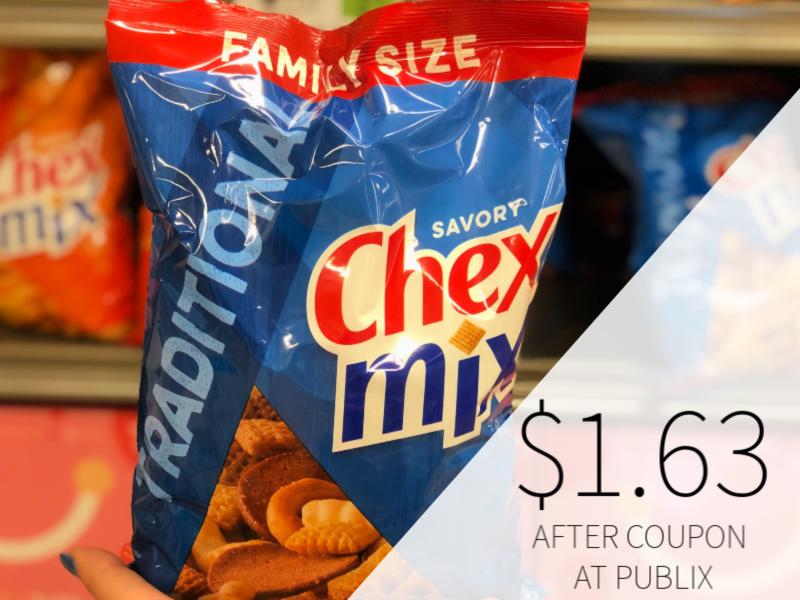 Chex Mix Or Bugles Only $1 63 Per Bag At Publix