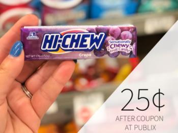 Hi-Chew Only 25¢ At Publix on I Heart Publix 1