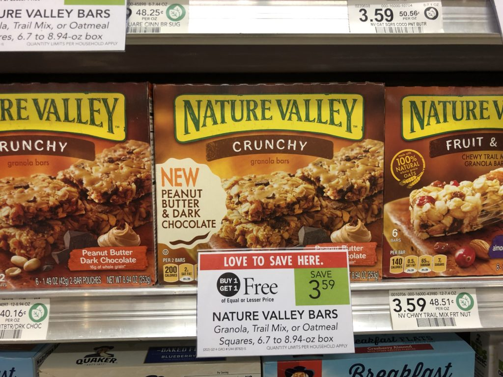 Nature Valley Bars As Low As $1.05 At Publix on I Heart Publix 1