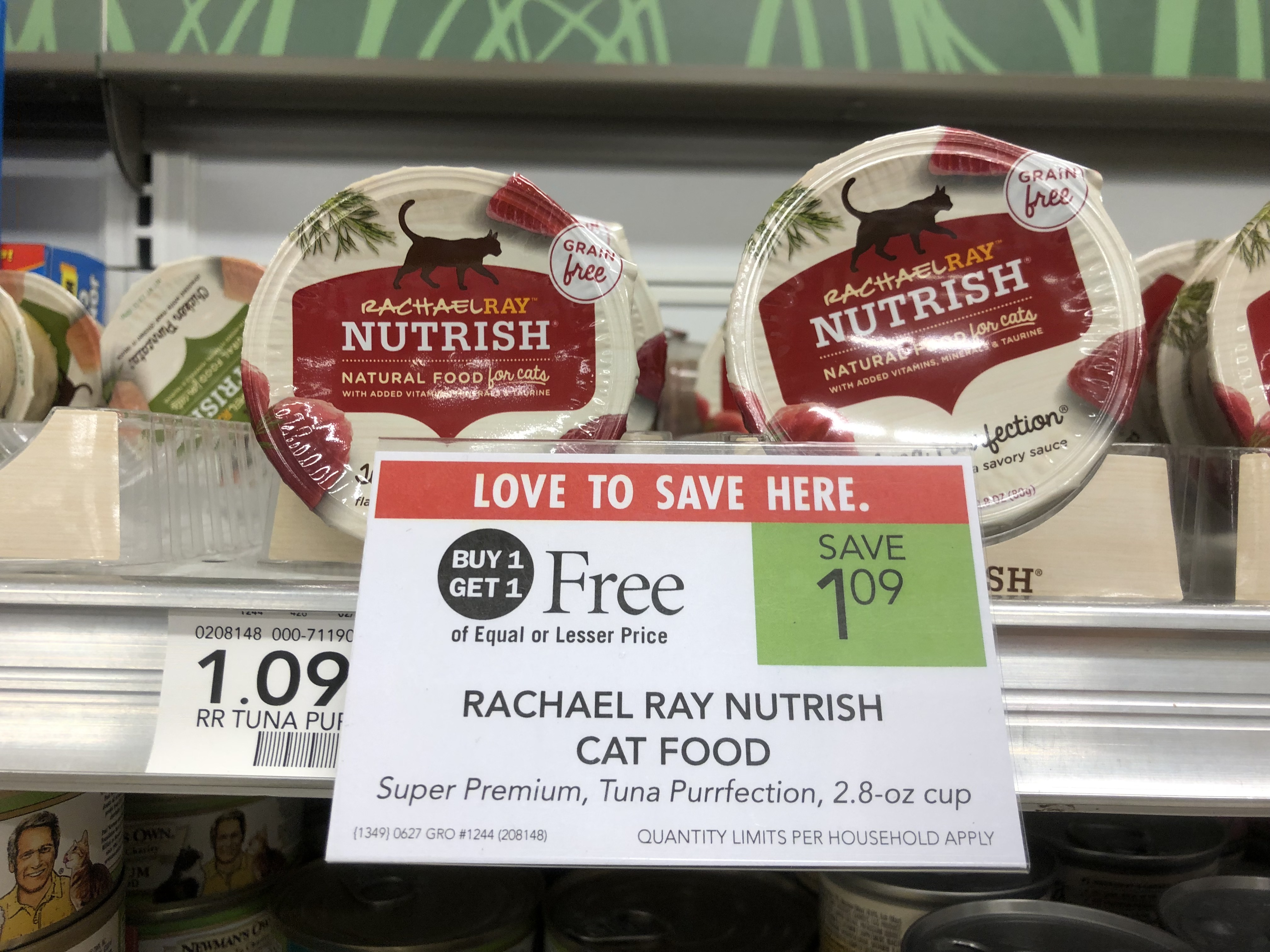 Rachael Ray Nutrish Wet Cat Food Only 27¢ At Publix on I Heart Publix