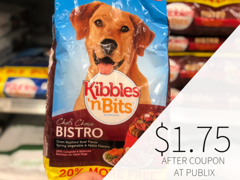 Kibbles 'N Bits Dog Food Only $1.75 At Publix on I Heart Publix