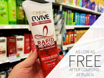 L'Oreal Paris Rapid Reviver As Low As FREE At Publix on I Heart Publix