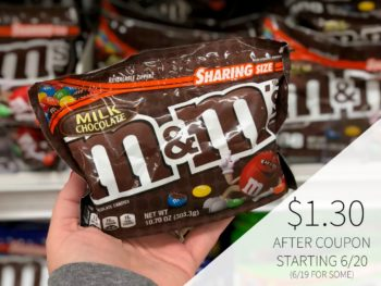 New M&M's Chocolate Candies Coupon For Upcoming BOGO - Just $1.30 At Publix on I Heart Publix