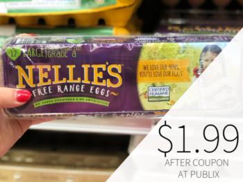 Nellie's Free Range Eggs Only $1.99 At Publix on I Heart Publix