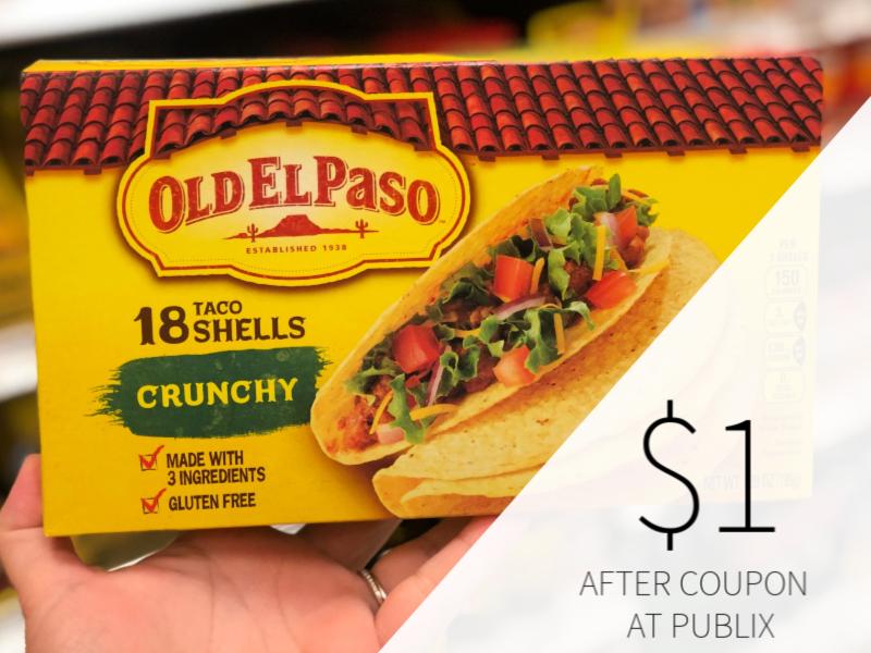 Old El Paso Taco Shells Tortillas As Low As 65 At Publix