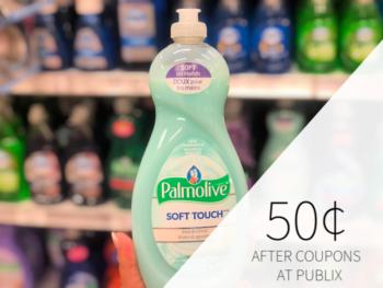 Palmolive Dish Soap Only 50¢ At Publix on I Heart Publix