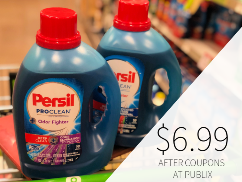 Persil ProClean Laundry Detergent Only $6.99 At Publix on I Heart Publix
