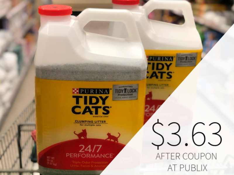 Purina Tidy Cats Litter Only $3.63 At Publix on I Heart Publix 1