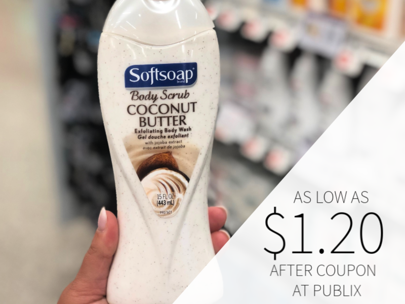 picture regarding Softsoap Printable Coupon known as Softsoap Overall body Clean As Reduced As $1.20 At Publix