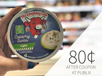 The Laughing Cow Spreadable Cheese Wedges Only 80¢ At Publix on I Heart Publix