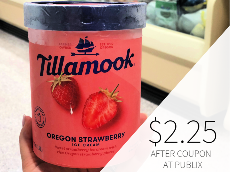 Tillamook Ice Cream Only $2.25 At Publix on I Heart Publix