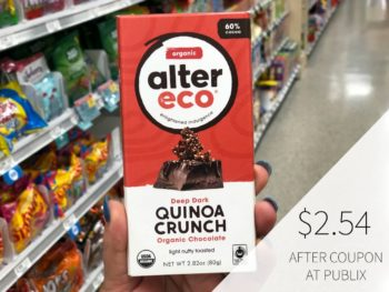 Alter Eco Chocolate Bar Digital Coupon on I Heart Publix 1