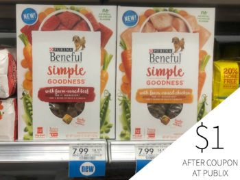 New Purina Coupons - Simple Goodness Just $1 In The New Publix Ad on I Heart Publix