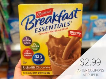 New Carnation Breakfast Essentials Coupon To Print on I Heart Publix 1