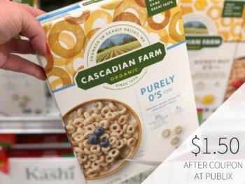 Cascadian Farm Organic Cereal Just $1.50 At Publix on I Heart Publix 1