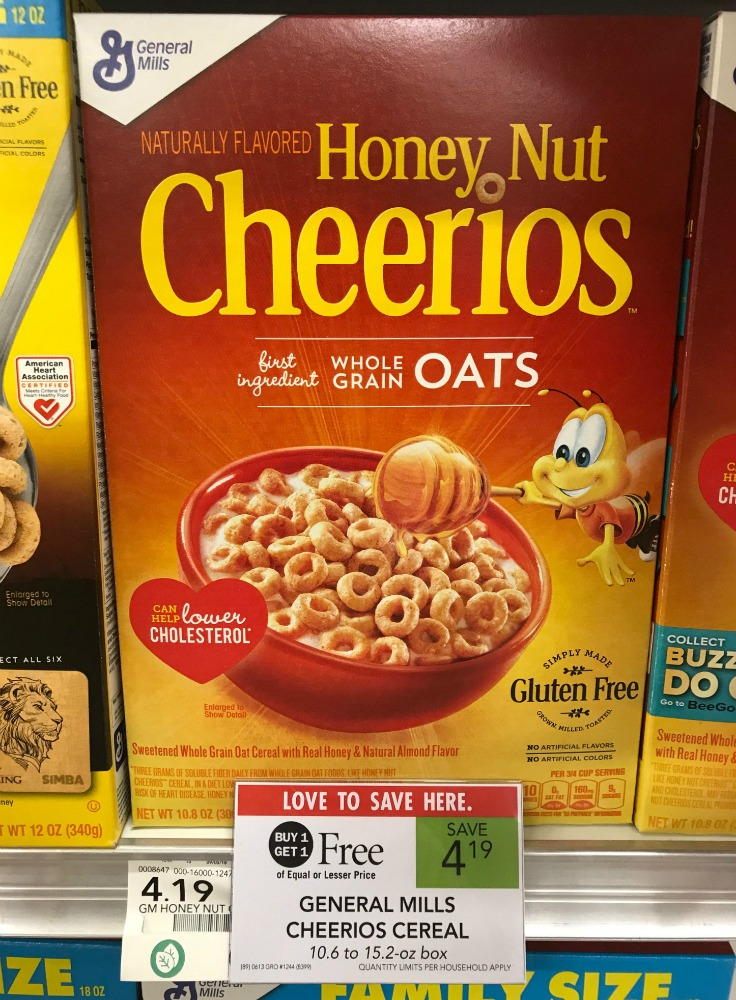 General Mills Cheerios Cereal - Just $1.60 At Publix on I Heart Publix 1
