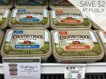 Big Savings On Country Crock Starting Today At Publix - Save $2 on I Heart Publix