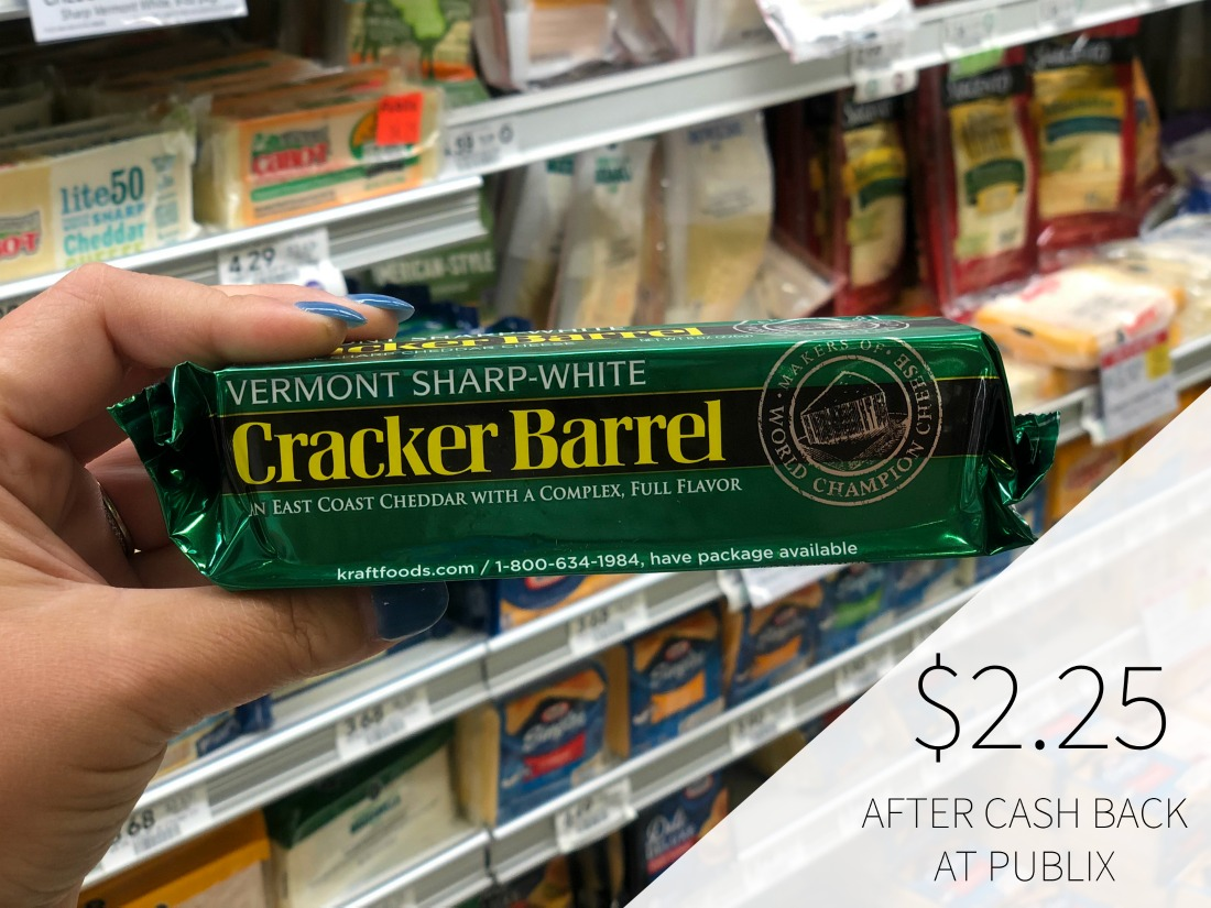 Cracker Barrel Cheese Chunks Just $2.25 At Publix (Half Price) on I Heart Publix 1