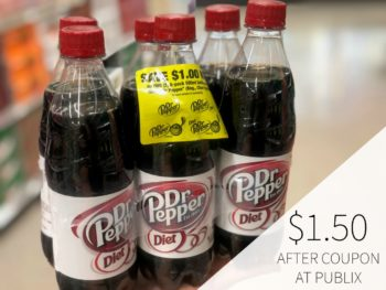 Dr Pepper 6pk As Low As $1.50 For Some on I Heart Publix