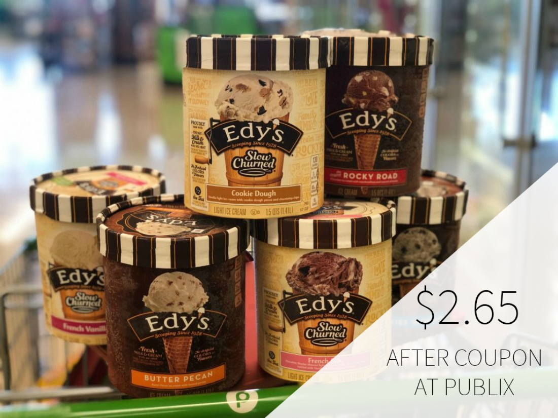 New Ice Cream Coupon For Publix Sales - Save On Edy's, Nestle Drumstick, Outshine & Haagen-Dazs on I Heart Publix 1