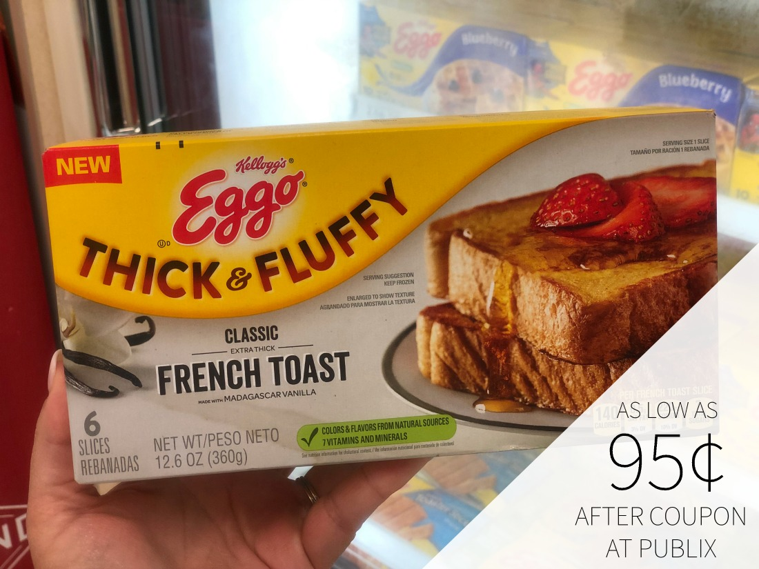 Kellogg's Eggo French Toast - As Low As 95¢ For Some on I Heart Publix 1