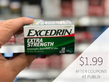New Excedrin Coupon + Publix Coupon = $1.99 At Publix on I Heart Publix