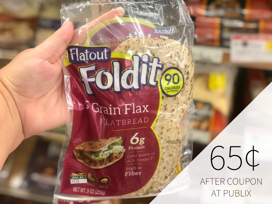 New Flatout Coupon For Publix BOGO Sale - Just 65¢ At Publix on I Heart Publix 1