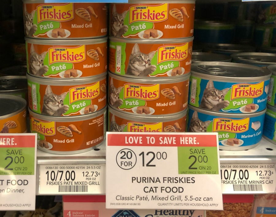 New Purina Friskies Cat Food Coupon For Publix Sale on I Heart Publix