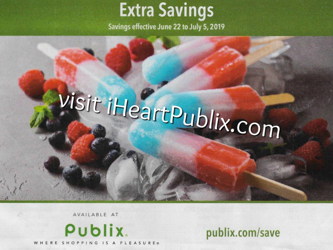 Publix Grocery Advantage Buy Flyer Extra Savings Valid 6 22 To 7 5