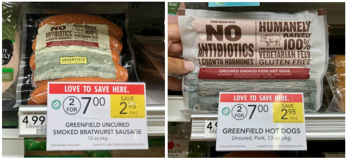 Greenfield Bratwurst Sausage or Hot Dogs Just $2.50 At Publix on I Heart Publix