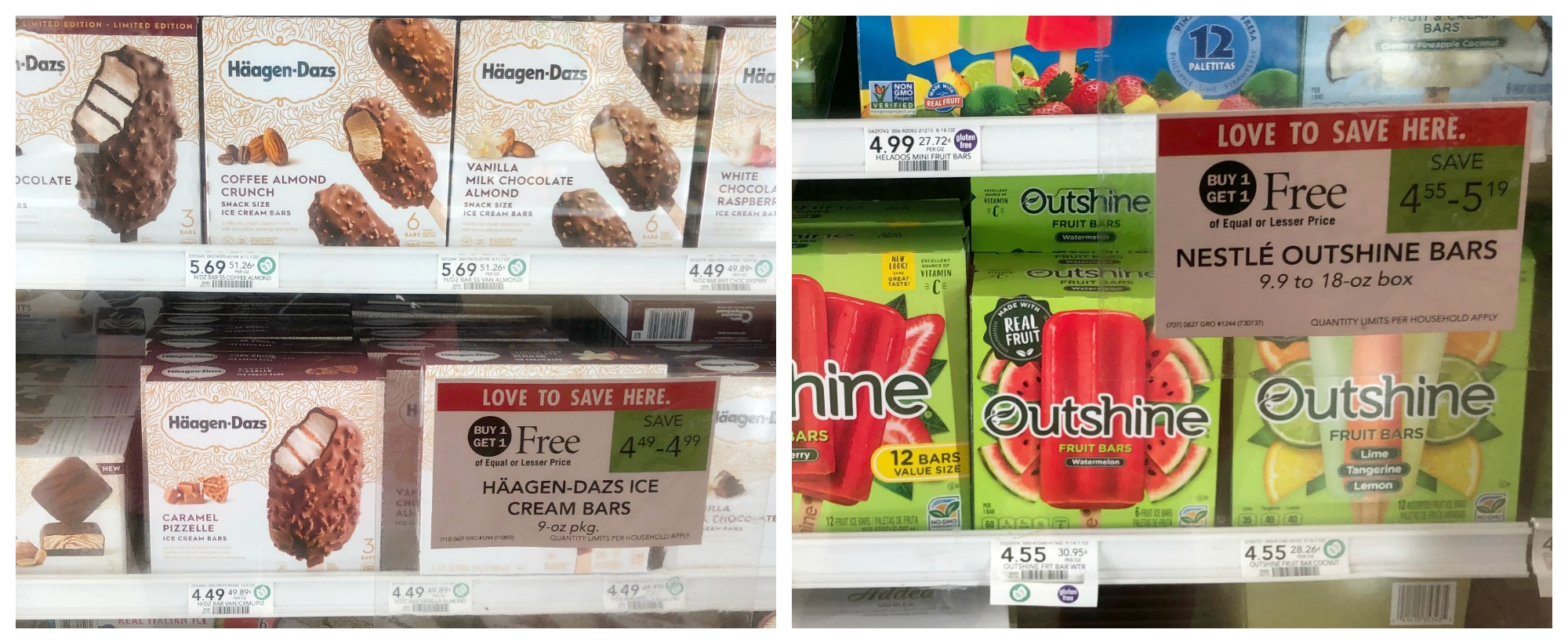 Perfect Week To Earn Your Publix Gift Card in The Have Happy On Hand Reward Offer (BOGO Sales On Häagen-Dazs & Outshine Bars!) on I Heart Publix