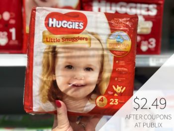 Huggies Diapers - Just $2.49 At Publix on I Heart Publix